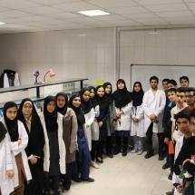 شرکت کنندگان کارگاه بیان ژن قطب شاهرود در دومین کارسوق مهندسی ژنتیک